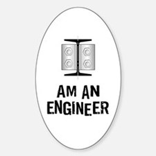 Engineer Identity Oval Decal