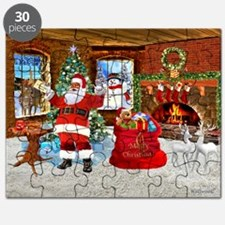 Merry Christmas From Santa Puzzle