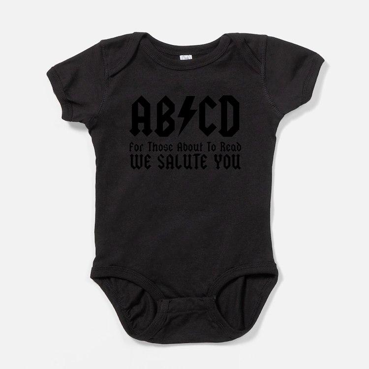 Cute Rock n roll Baby Bodysuit