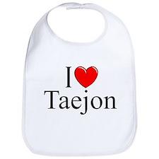 """""""I Love Taejon"""" Bib"""