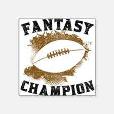 Fantasy Football Champion Sticker