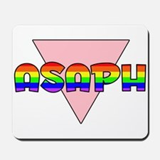 Asaph Gay Pride (#002) Mousepad