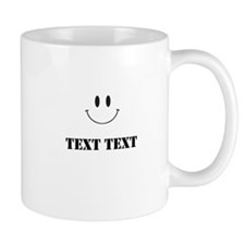 Personalize Smiley Face Mugs