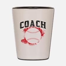 Baseball Coach Shot Glass