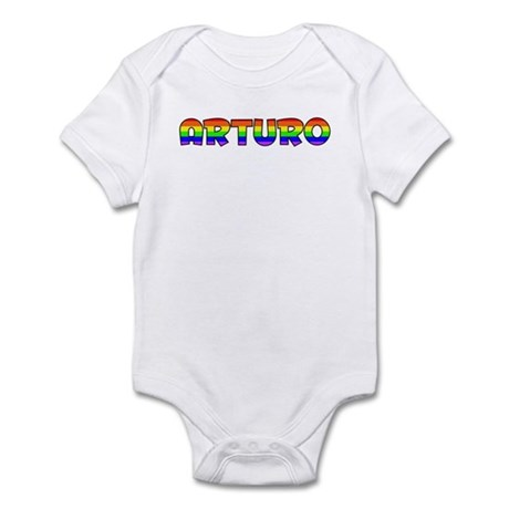 Arturo Gay Pride (#004) Infant Bodysuit