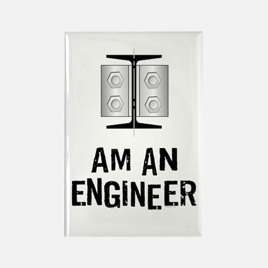 Engineer Identity Rectangle Magnet
