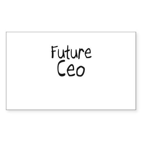 Future Ceo Rectangle Sticker