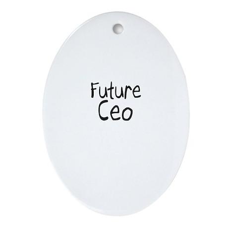 Future Ceo Oval Ornament