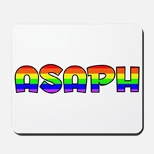 Asaph Gay Pride (#004) Mousepad