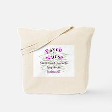 Unique Psych nurse Tote Bag