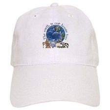 The Earth Is Our House Too Baseball Baseball Cap