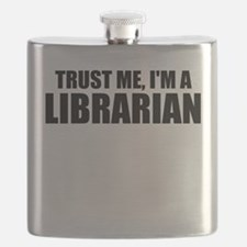 Trust Me, I'm A Librarian Flask