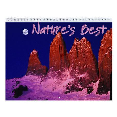 Nature's Best Wall Calendar