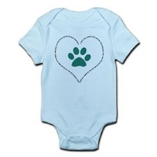 He is your friend..Teal Infant Bodysuit