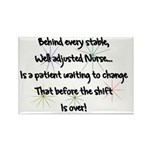 Behind every stable WELL ADJUSTED NURSE Patient to