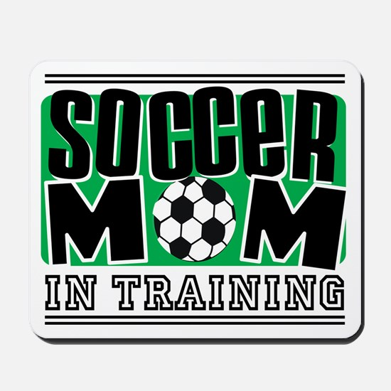 Soccer Mom In Training Mousepad