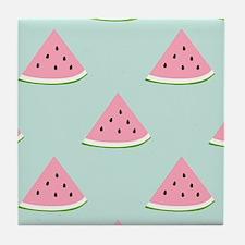Unique Watermelon lovers Tile Coaster