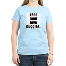 Real Men Love Puggles T-Shirt