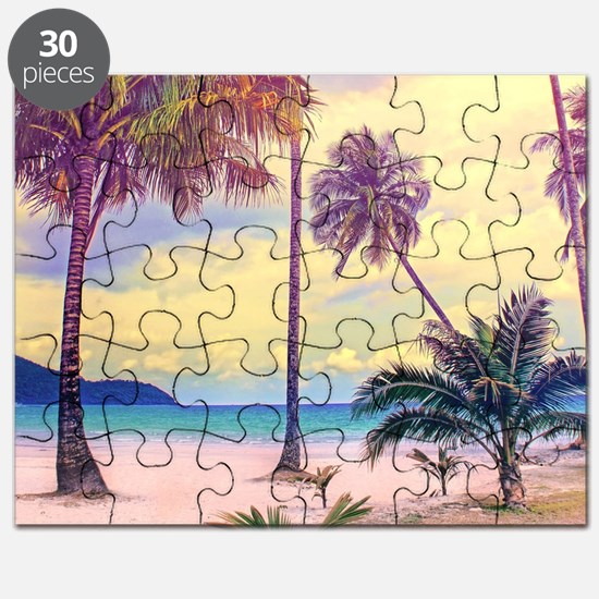 Tropical Beach Puzzle