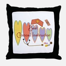 Unique Nurse preceptor Throw Pillow