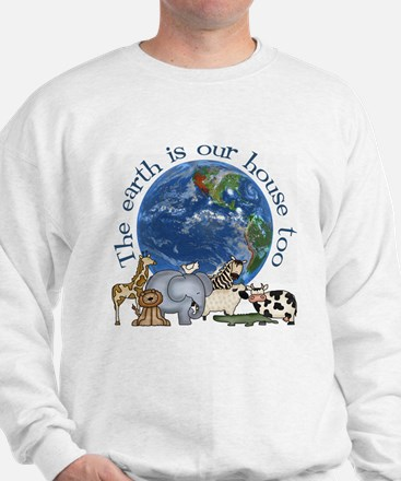 The Earth Is Our House Too Jumper