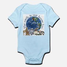 The Earth Is Our House Too Infant Bodysuit