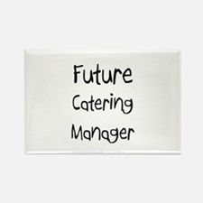 Future Catering Manager Rectangle Magnet