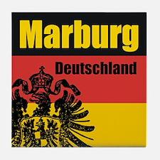 Marburg Deutschland  Tile Coaster
