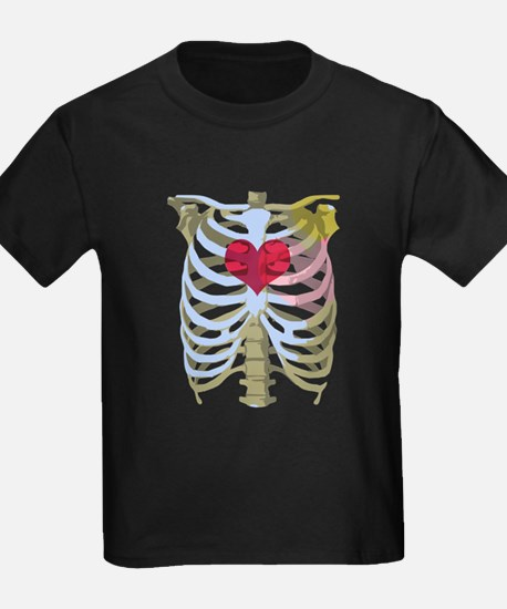 Skeleton Heart T-Shirt
