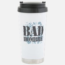 Bad Hombre Stainless Steel Travel Mug