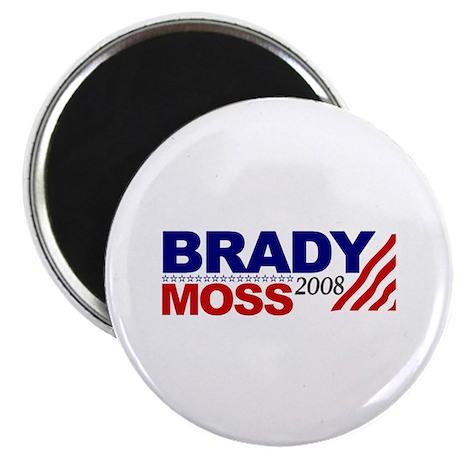 "Brady Moss 2008 2.25"" Magnet (100 pack)"