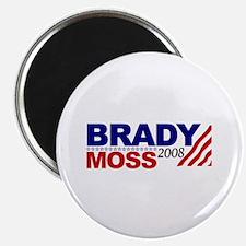 Brady Moss 2008 Magnet