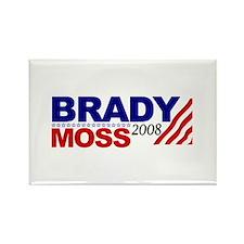 Brady Moss 2008 Rectangle Magnet