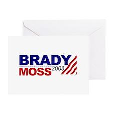 Brady Moss 2008 Greeting Card