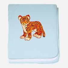 Tiger Cub baby blanket