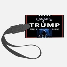 hackers 4 trump Luggage Tag