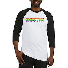Austin Gay Pride (#004) Baseball Jersey