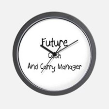 Future Cash And Carry Manager Wall Clock