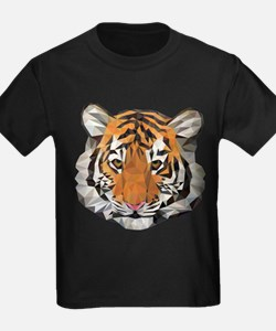 Tiger Cub Low Poly Triangle Geometric T-Shirt