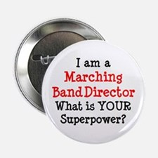 """marching band director 2.25"""" Button"""