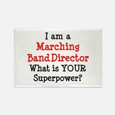 marching band director Rectangle Magnet