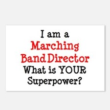 marching band director Postcards (Package of 8)