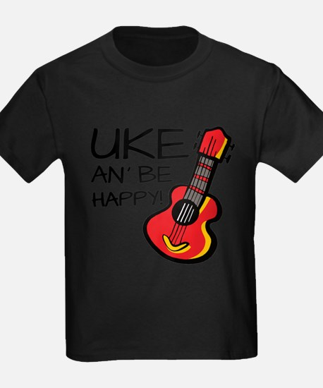 Uke an' be happy! T-Shirt