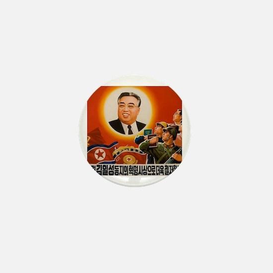 Kim Il-sung - ??? Mini Button