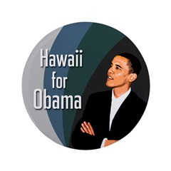 Hawaii for Obama Extra Large Button
