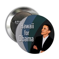 Hawaii for Obama Ten Pack Buttons