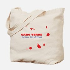 Cabo Verde Islands Terra Tote Bag