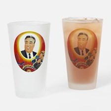 Cool Leftie Drinking Glass