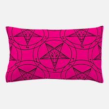 pink baphomet Pillow Case