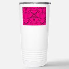 pink baphomet Stainless Steel Travel Mug